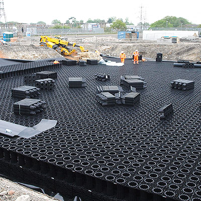 a different type of stormwater storage